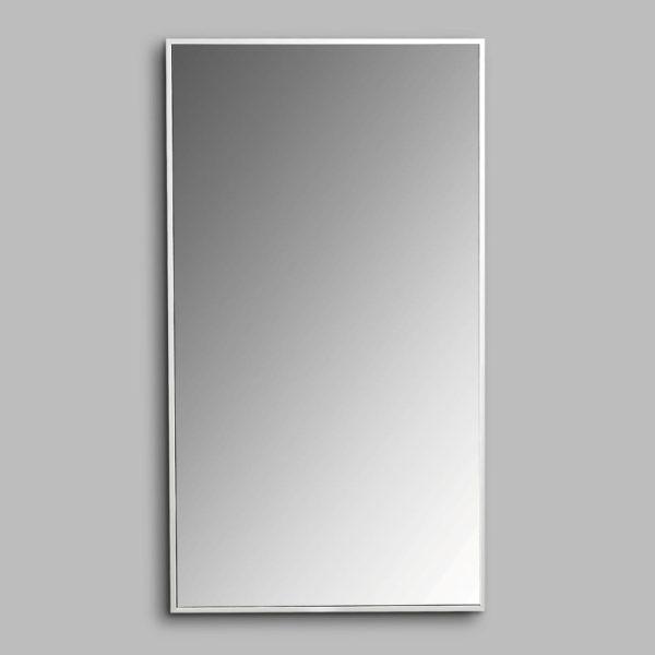 AVA Enzo 900 Wall Hung Mirrors Aluminium Frame
