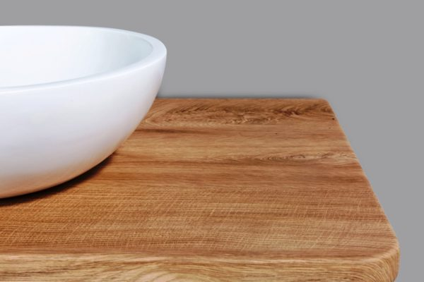 Lazio Birch Wood Top with Florence Basin